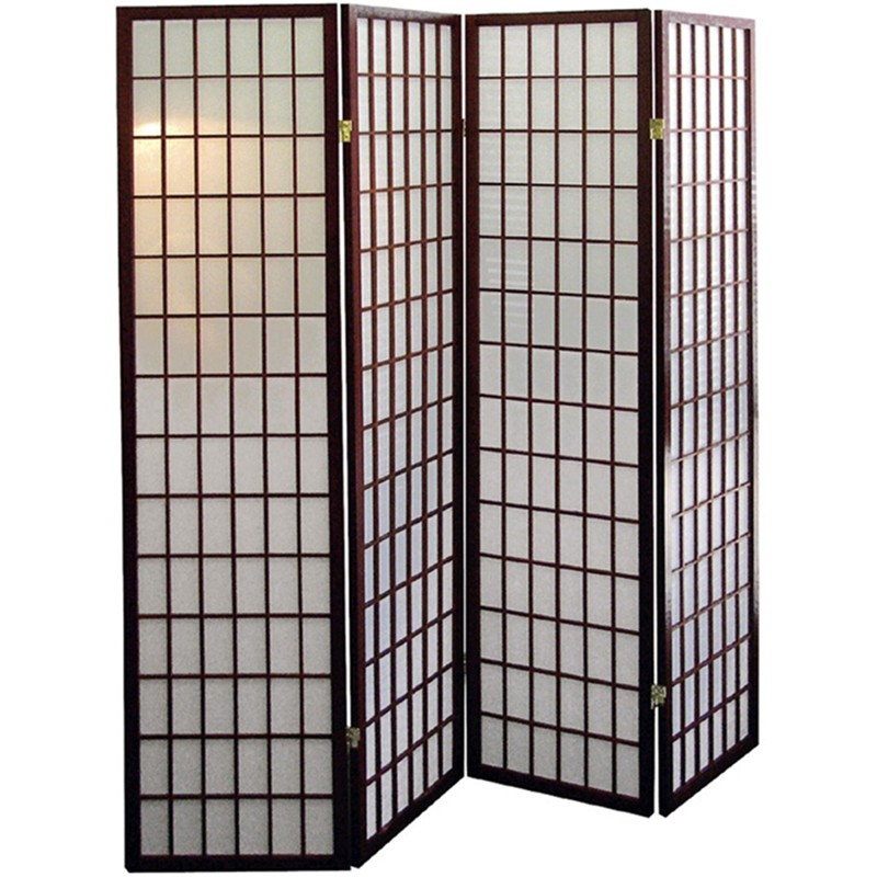 100 panel shoji screen room divider oriental furniture 48 i